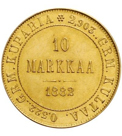 Finlandia 10 marek 1882