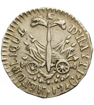 Haiti 12 centimes AN 14 (1817)