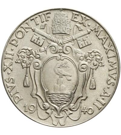 Watykan 50 centesimi 1940, Pius XII