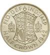 Wielka Brytania 1/2 korony 1942