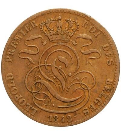 Belgia 5 centimes 1848