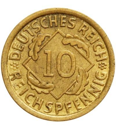 Weimar 10 Reichspfennig 1935 A
