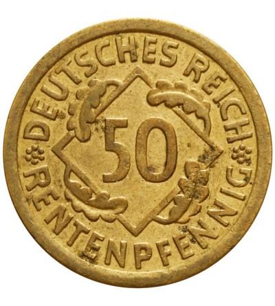 Weimar 50 Rentenpfennig 1924 A