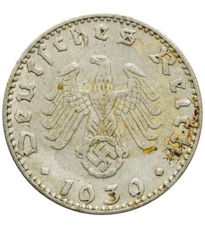 50 fenigów 1939 J