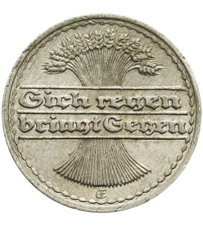 Weimar 50 fenigów 1921 F