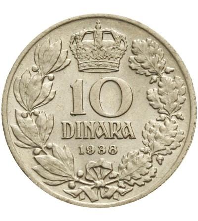 Jugosławia 10 dinara 1938