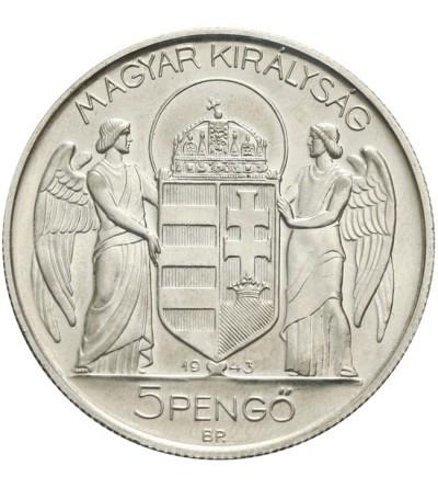 Węgry 5 pengo 1943