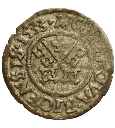 Szeląg 1533, Ryga