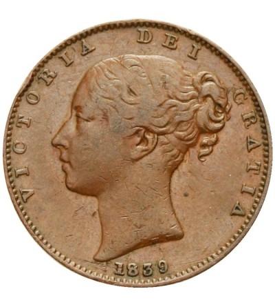 Wielka Brytania 1 farthing 1839