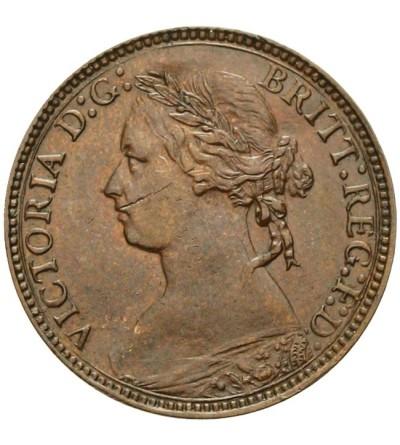 Wielka Brytania 1 farthing 1875 H