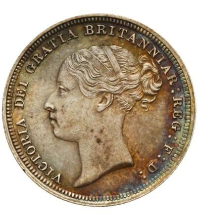 Wielka Brytania 6 pensów 1885