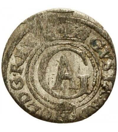 Ryga szeląg 1621, Gustaw Adolf 1621-1632